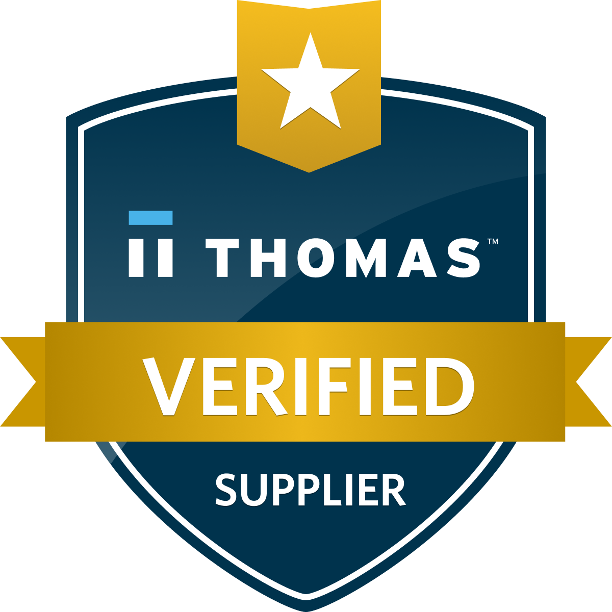 Thomas Verified Supplier Badge