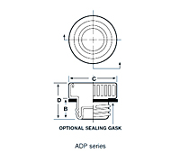 ADP Series - Threaded Aluminum Plugs for Flareless Tube and Hose Assemblies - 2